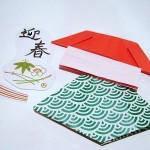 ◇折り紙◇獅子舞をはがきに貼るだけ かんたん手作り年賀状