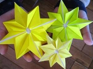 七夕飾りにかかせないお星さま ... : 折り紙 工作 幼児 : 幼児