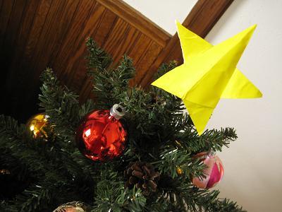 クリスマス-七夕-星-折り方-手作り-カード-折り紙-簡単-工作-子供-保育園-幼稚園-作り方-幼児-2歳-3歳