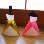 折り紙◆ひな祭りお雛様の折り方◆ひな人形を簡単工作