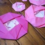 折り紙の花☆椿(つばき)の折り方【動画つき】