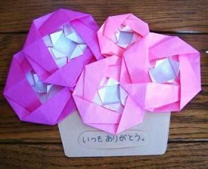 母の日-ギフト-プレゼント-手作り-カード-折り紙-簡単-工作-子供-保育園-幼稚園