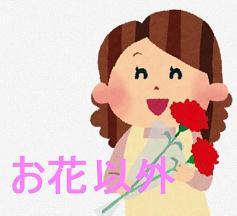 母の日-花以外