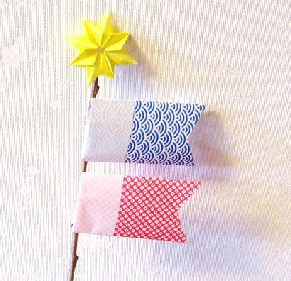 手作り こいのぼり 折り紙