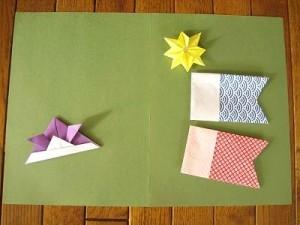 兜-手作り-簡単-工作-かぶと-新聞紙-折り紙-折り方-端午の節句-子供の日-カード-誕生日-五月
