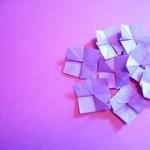 折り紙のお花 あじさいの折り方!簡単動画|3歳から父の日母の日