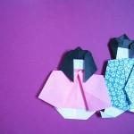 七夕飾り!折り紙で簡単~作り方動画8つ!織姫くす玉四角つづり
