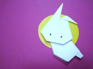 簡単な折り紙うさぎ折り方
