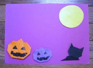 子供と製作できる簡単なハロウィンカード
