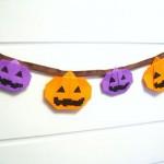 ハロウィン手作り飾り付け! 折り紙で簡単オーナメント・ガーランド