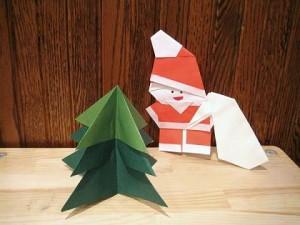 折り紙でモミの木の折り方