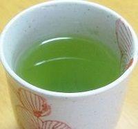 緑茶で喉を殺菌