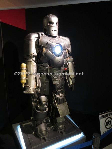 沖縄マーベル展のアイアンマンマークI